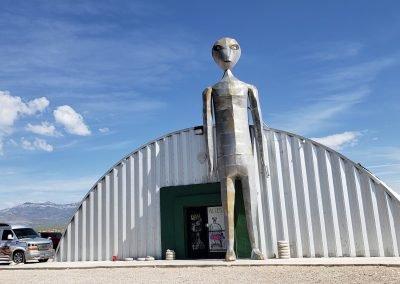 sightseeing on our area 51 Tour - Excursions à l'aventure dans l'Ouest