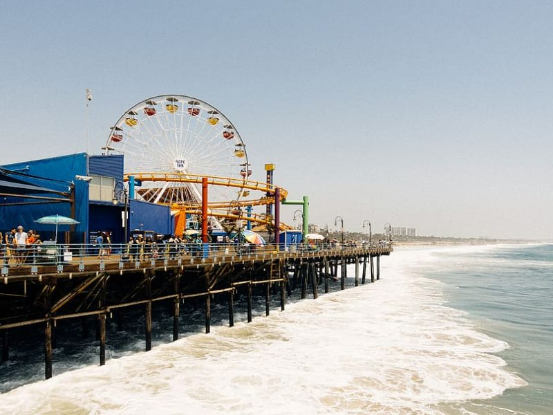 Santa Monica Wasser